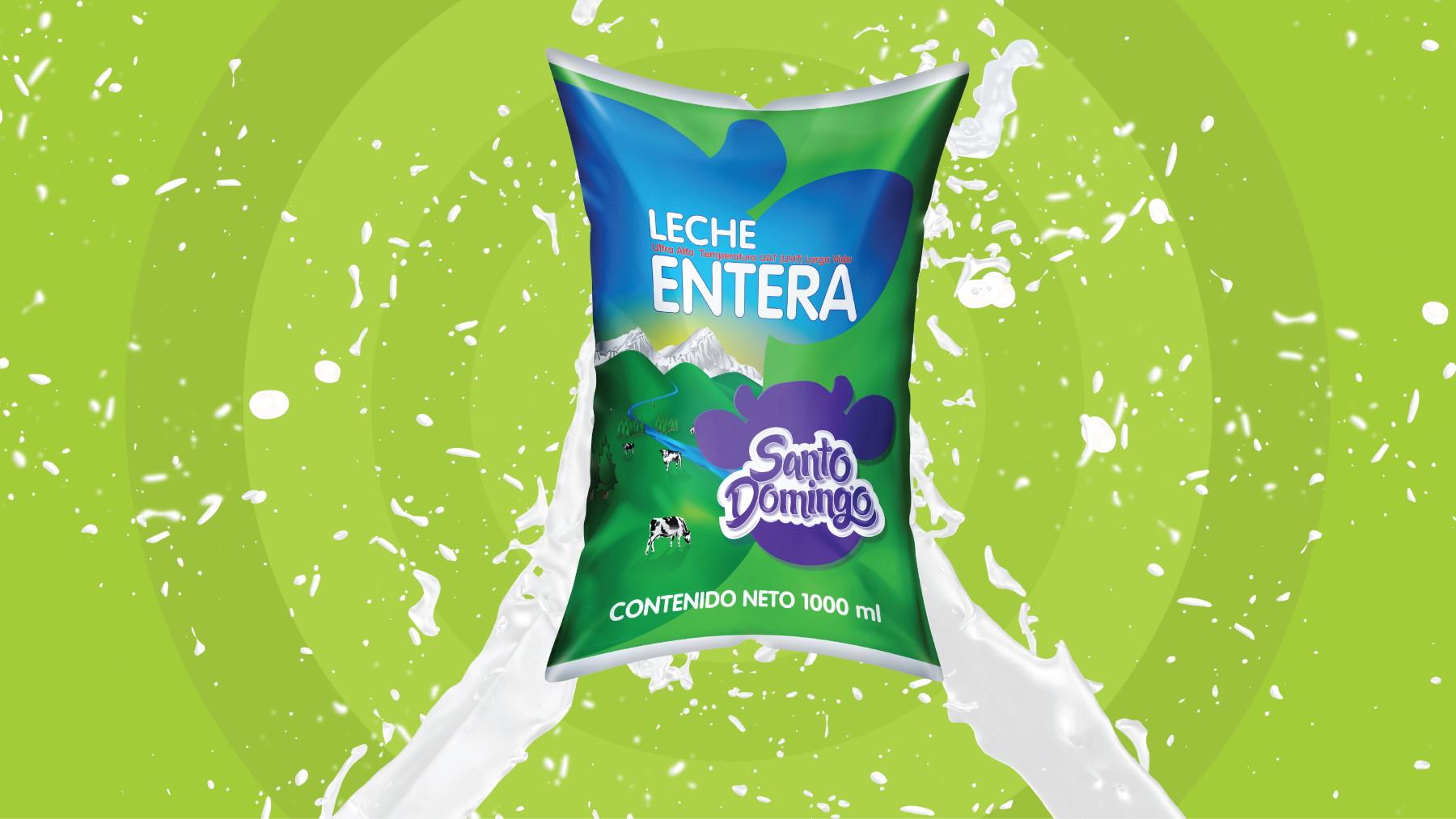 Leche Entera UHT Media Vida